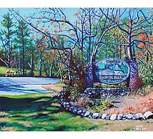 'Welcome to Blowing Rock' Photographic Print
