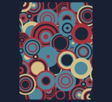 Circledelic - blue/red/cream Kids Clothes
