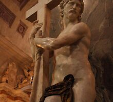 Michelangelo's Jesus Bearing the Cross by Kent Nickell