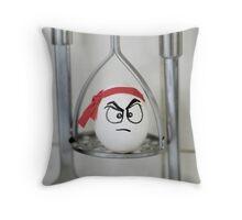 Eggbert... Throw Pillow