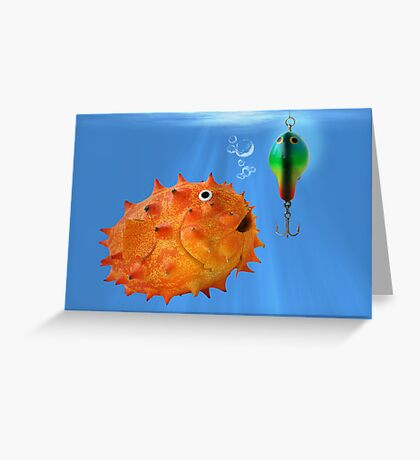 Blowfruit Greeting Card