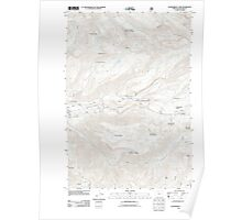 USGS Topo Map Oregon Government Camp 20110816 TM Poster