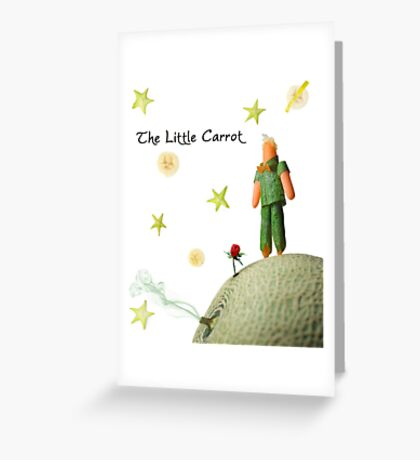 The Little Carrot Greeting Card