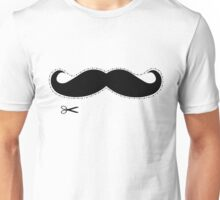 Moustache & Scissors Unisex T-Shirt