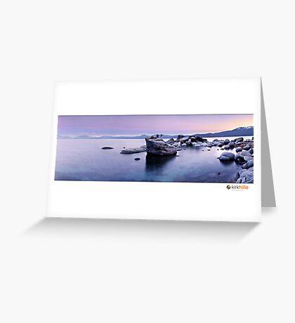 Lake Tahoe II Greeting Card