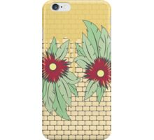 growing flowers on concrete iPhone Case/Skin