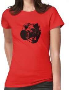 Camera from heaven Womens Fitted T-Shirt