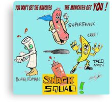 Snack Squad Canvas Print