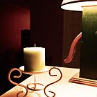 Candle and Lamp by Cory Bulatovich