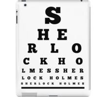 Can you see Sherlock Holmes ? iPad Case/Skin