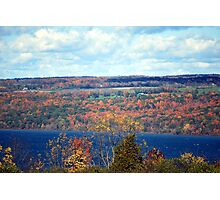 Autumn in the Finger Lakes Photographic Print