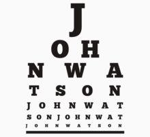 John Watson T-Shirt by valeriabald