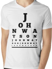 John Watson T-Shirt Mens V-Neck T-Shirt