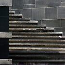 "Shanghai - Stairs & Squares by Christine ""Xine"" Segalas"