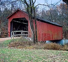 Sandy Creek Covered Bridge by barnsis