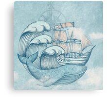 Ship  Metal Print