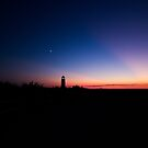 Sunset at the Highland Lighthouse by Michelle Callahan