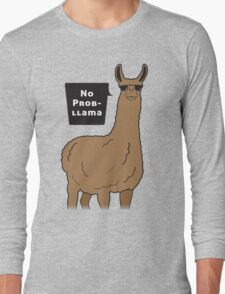 No Prob-llama Long Sleeve T-Shirt