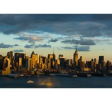 New York skyline Photographic Print