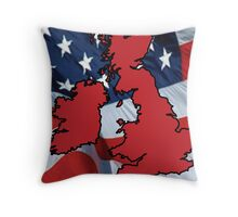 UK - Allied United Throw Pillow