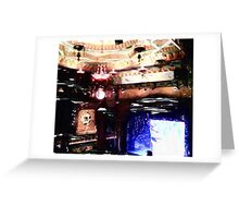 Theater Lights Greeting Card