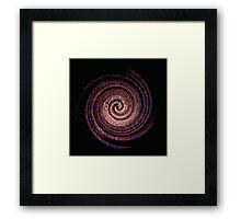 Spikey Swirl Framed Print