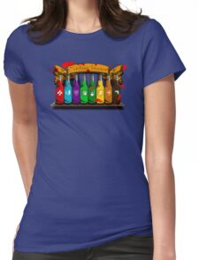Zombies beware Womens Fitted T-Shirt