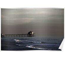HB Surfers - Huntington Beach CA Poster