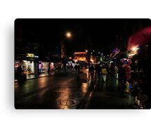 Night in Camden Town Canvas Print