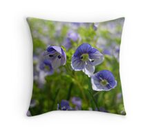 Wee Flowers Throw Pillow