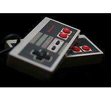 Nintendo Controllers Photographic Print