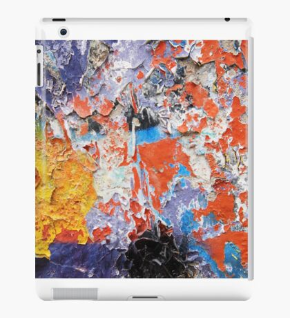 Abstract decay iPad Case/Skin
