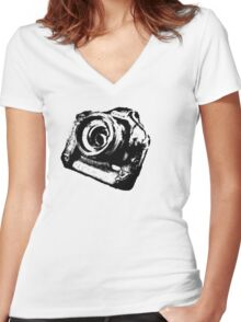 Lord of the cameras Women's Fitted V-Neck T-Shirt