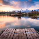 Fishponds in the High Tatras by Zoltán Duray