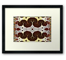 Geometric Patterns No. 37 Framed Print