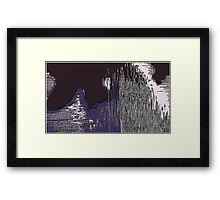 Wall Street's Wild Ride Framed Print