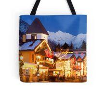 Vail Village, Christmas 2010-2011 Tote Bag