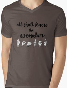 All Shall Know the Wonder - The Song of Purple Summer - Spring Awakening Mens V-Neck T-Shirt