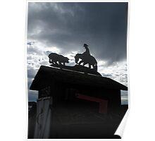 """Ranch Mailbox"" Poster"