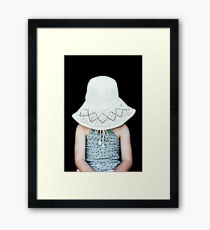 sun smart Framed Print