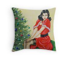 Good Old Christmas Throw Pillow