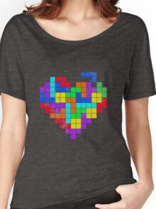THE GAME OF LOVE Women's Relaxed Fit T-Shirt