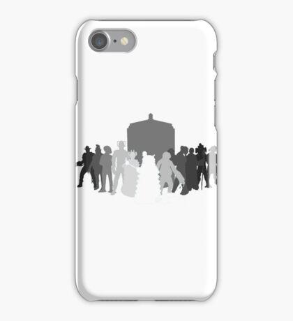 enemies of the doctor iPhone Case/Skin