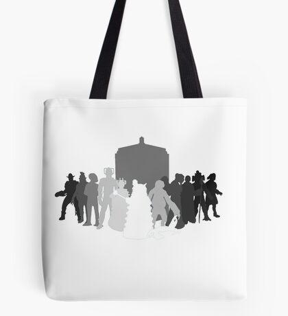 enemies of the doctor Tote Bag