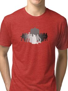 enemies of the doctor Tri-blend T-Shirt