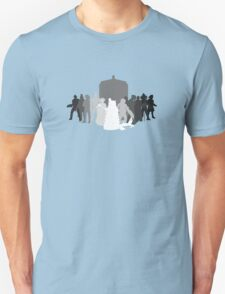 enemies of the doctor Unisex T-Shirt
