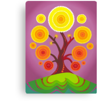 Orb tree of fruition Canvas Print