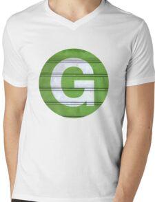 G TRAIN Mens V-Neck T-Shirt