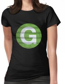 G TRAIN Womens Fitted T-Shirt