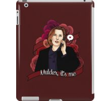 Mulder, it's me iPad Case/Skin